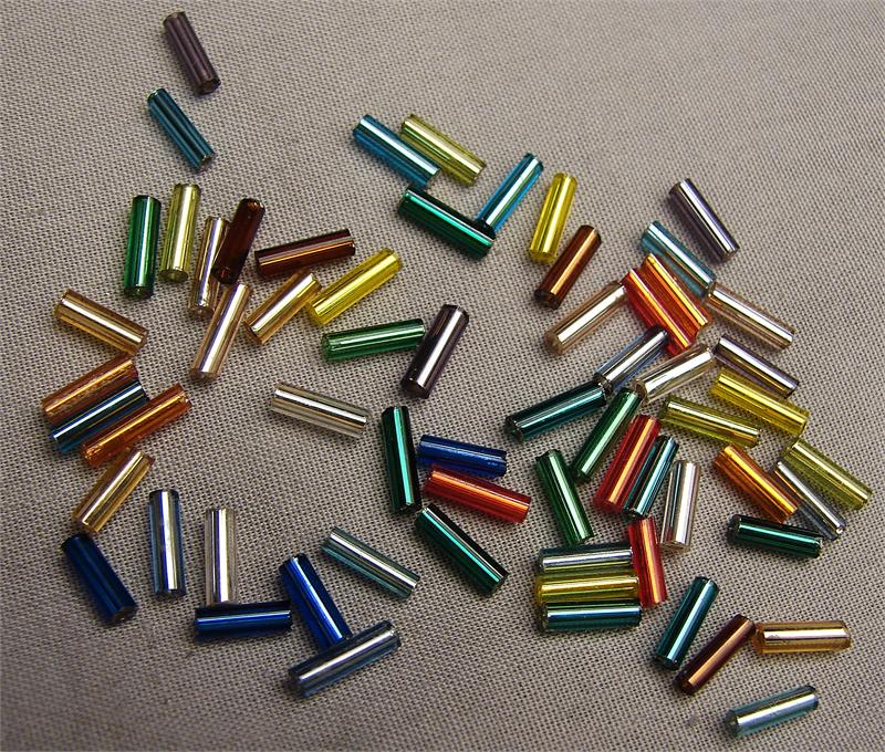 seed and glass lined beading beads brown image supplies bugle czech silver size